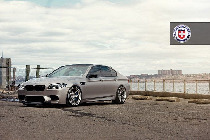 Gorgeous M5 from our friends at HRE Wheels.