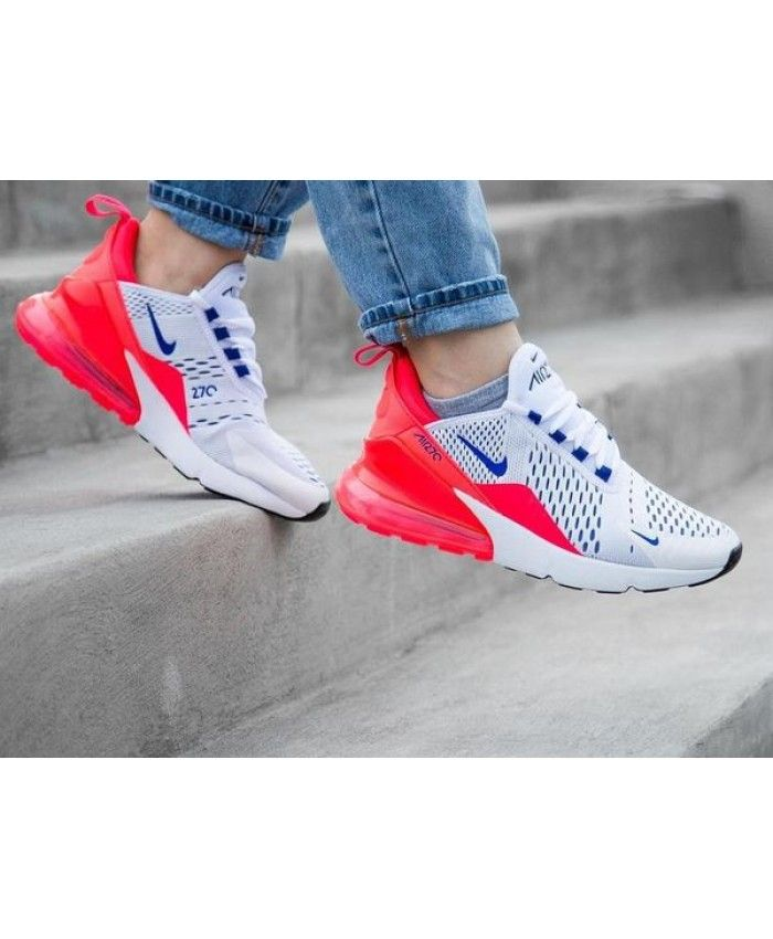 premium selection 1b60b c90ca Nike Air Max 270 Ultramarine Solar Red Trainer