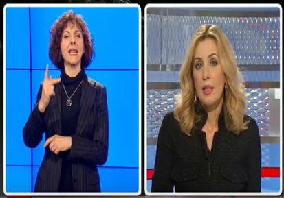 Maria Grazia Capulli - Tg2 Non Udenti - 26 Gennaio 2013