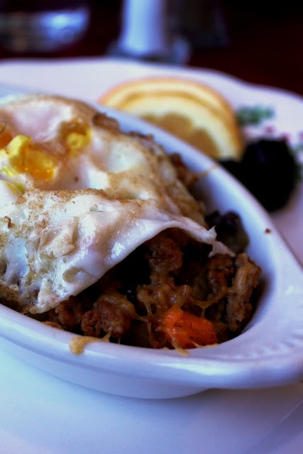 Breakfast Idea - winter root vegetable hash with spicy chorizo and ...