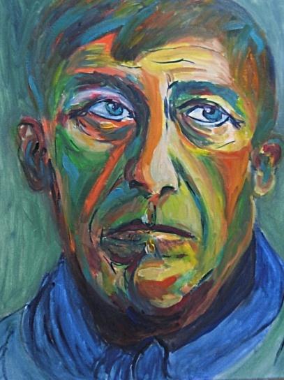 Oskar Kokoschka Self-Portrait