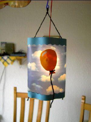 Schnelle Martinslaterne - in 2 Stunden fertig - creadoo.com