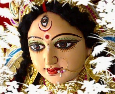 Durga Puja festival marks the victory of Goddess Durga over the evil buffalo demon Mahishasura.