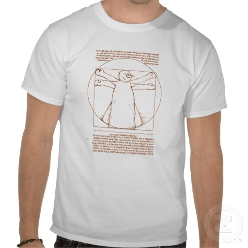 "Vitruvian Snowman :- Snow Masters T-Shirt. This is my take on the snow angel idea but in a very arty way. The original is certainly one of the most famous images on the planet, Leonardo Da Vinci's ""Vetruvian Man"" was created around 1487. It is now kept in the Accademia di Belle Arti in Venice, Italy. Unfortunately it is only displayed on very special occasions. #apparel #tshirt #snowman #vetruvianman #leonardodavinci #davinci #leonardo #renaissance #christmas #xmas #seasonal #festive"
