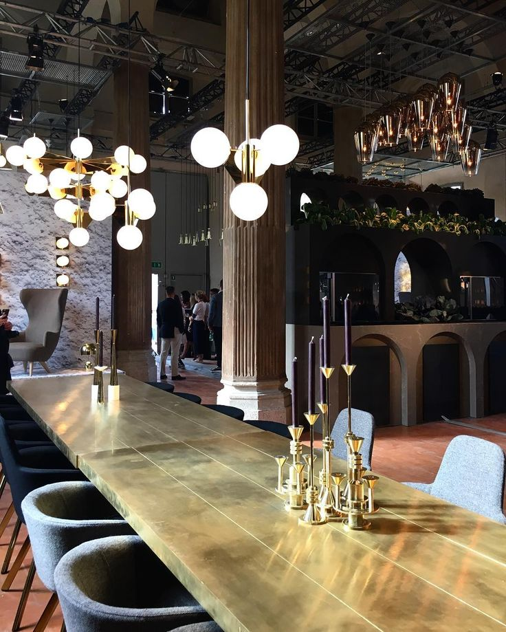 The designer who can do no wrong.... The Restaurant by Tom Dixon & Caeserstone in the incredible Rotonda della Besana. The space is operating as a full service restaurant for the duration of Milan Design Week. __________ @tomdixonstudio __________ #thedesignedit #tomdixon #therestaurant2016 #mdw2016 #SaloneDelMobile #interiordesign #milandesignweek