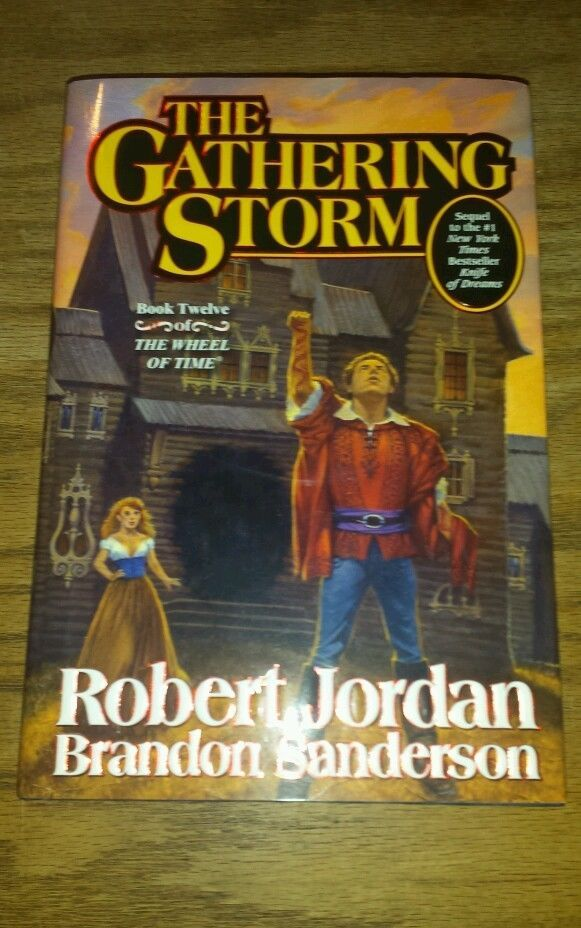 2009 The Gathering Storm And Towers Of Midnight Signed Robert Jordan .1st Ed in Books, Comics & Magazines, Fiction | eBay