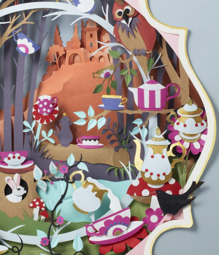 Awesome paper art by Helen Musselwhite