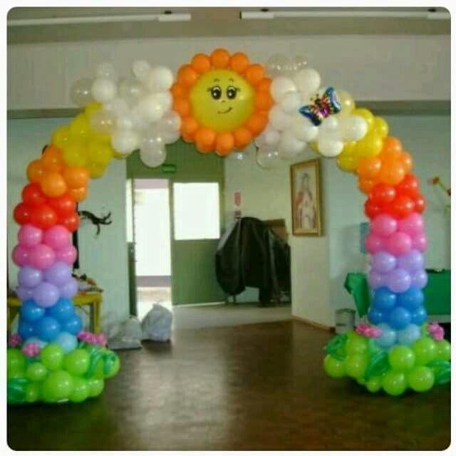 12 besten rainbow bilder auf pinterest luftballons for Regenbogen dekoration