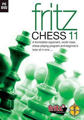 Fritz #chess 11 (pc dvd) #brand new #sealed,  View more on the LINK: 	http://www.zeppy.io/product/gb/2/141871977799/