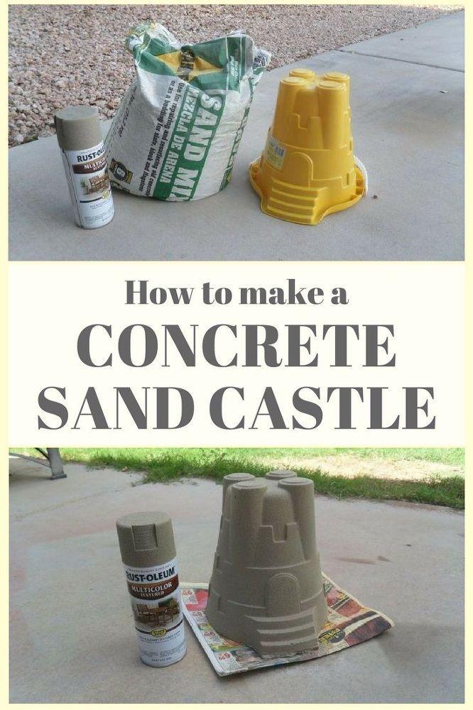 Best 25 sand castle craft ideas on pinterest beach sand for Craft cement mix