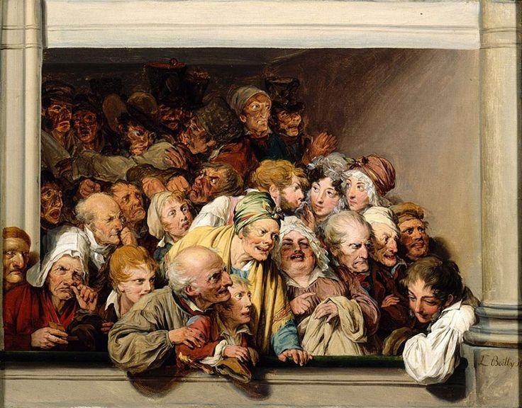 Louis-Léopold Boilly (1761-1845) - Quello che dice il volto: le espressioni nell'arte – DidatticarteBlog