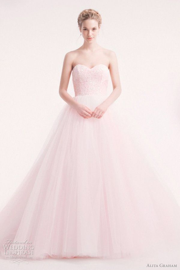 25 best beautiful wedding dress images on pinterest wedding frocks pale pink wedding dress kleinfeld junglespirit Images