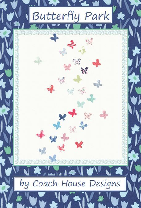 Butterfly Park - Coach House Designs - Patchwork Pattern