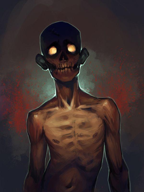 Zombie Sketch by sashulka on DeviantArt