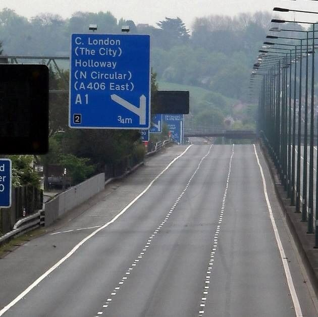 M1 junction 2 for the A1 great north way