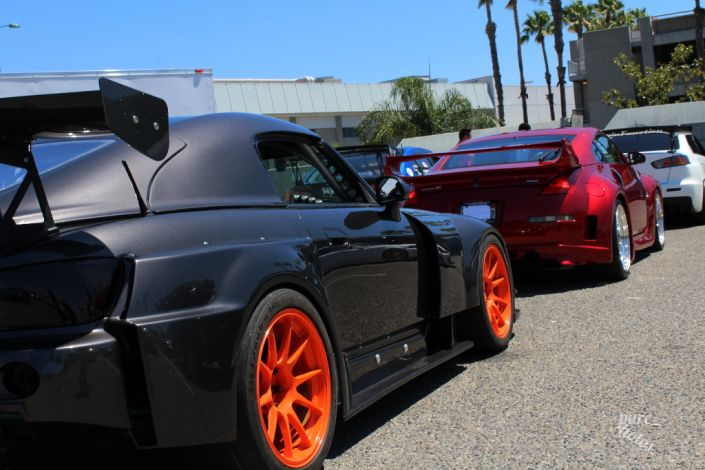 """Project Import's 2000 Honda S2000 """"Time Attack"""" project."""