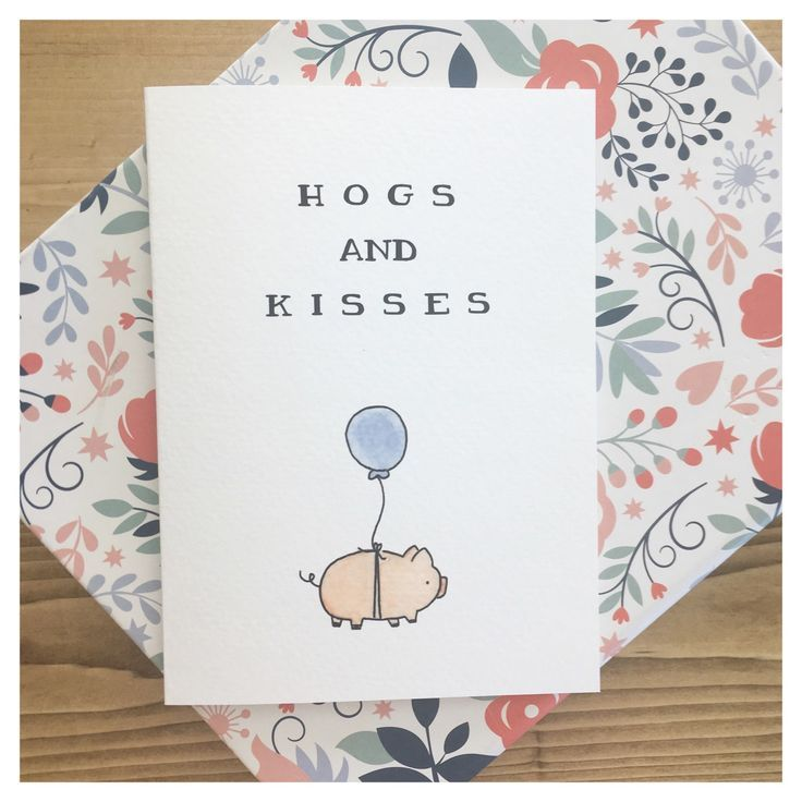 Cards for all occasions 🎈🐷