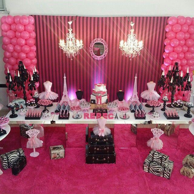 89 mejores im genes de par s party en pinterest fiesta for Decoracion xv anos paris