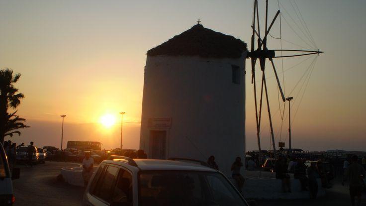 sunset Paros