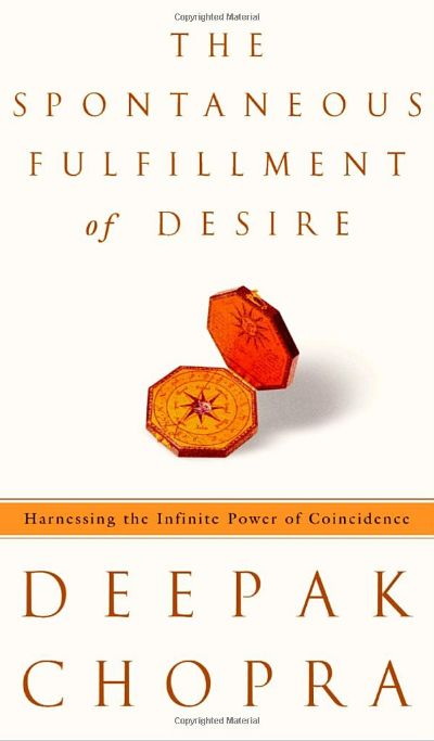 The Spontaneous Fulfillment of Desire: Harnessing the Infinite Power of Coincidence | Self Growth 4 Ever  http://selfgrowth4ever.com The Seven Spiritual Laws of Success, this groundbreaking new book from Deepak Chopra contains a dramatic premise: Not only are everyday coincidences meaningful, they actually provide us with glimpses of the field of infinite possibilities that lies at the heart of all things.