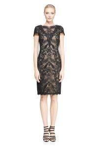 AUL16575M Sukienka wieczorowa czarna #mididress #eveningdress #tadashishoji
