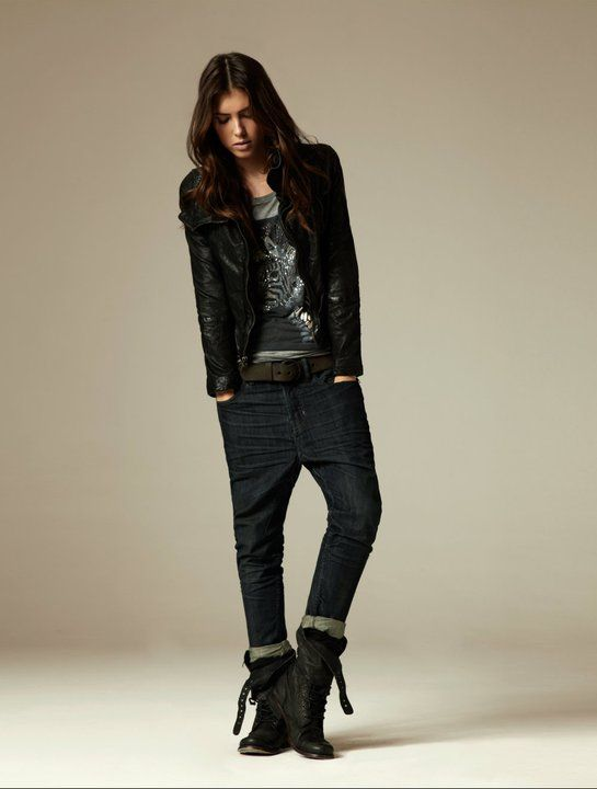 All Saints - love the look