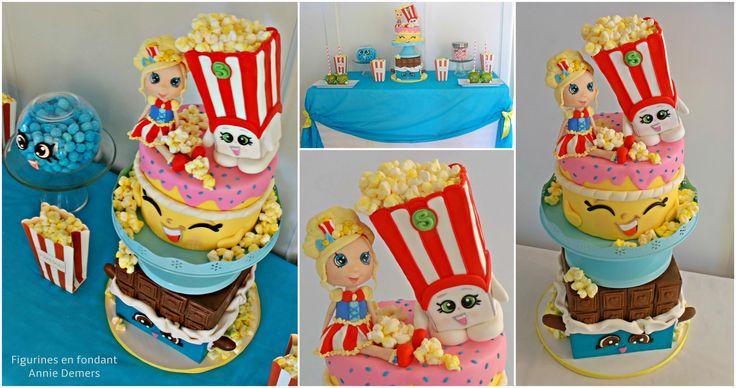 Sweet table shopkins https://www.facebook.com/figurinesanniedemers