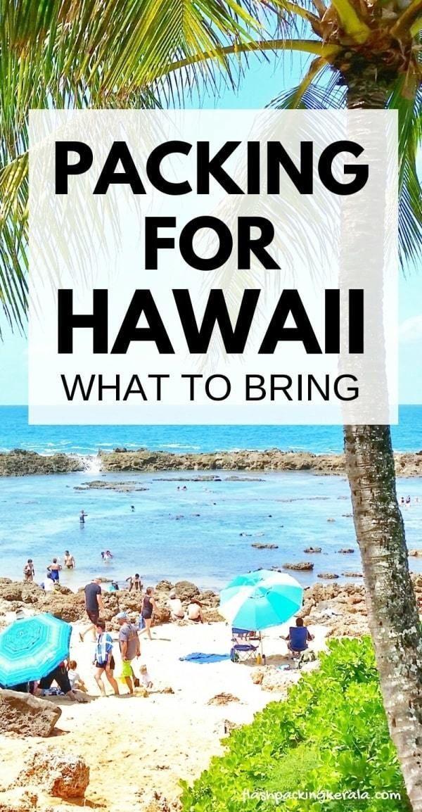 Qué empacar para Hawai durante una semana: qué traer y poner en la lista de empaque de Hawai …