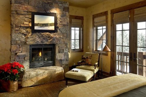 rustic+door+coverings | Rustic Window Treatments Ideas for Home
