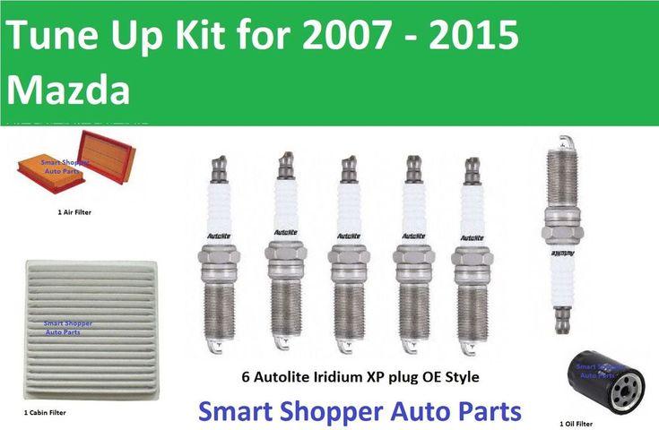 Tune Up 2007 2008 2009 2015 Mazda Cx 9 V6 Air Filter Oil Cabin Filter Spark Plug Ebay Cabin Filter Air Filter Oil Mazda Cx 9