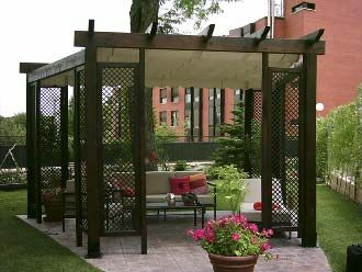 resultado de imagen para pergolas metalicas outdoor party spaces google search