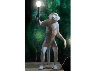 Lámpara de mesa de resina MONKEY LAMP | Lámpara de mesa - Seletti