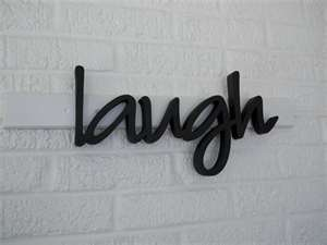 I 'laugh' this =]: Scripts Fonts, Inspiration Words, Cases Scripts, Ipad, Fun Words, Laughing Wooden, Wooden Letters, Fonts Ne, Inspiration Typographic