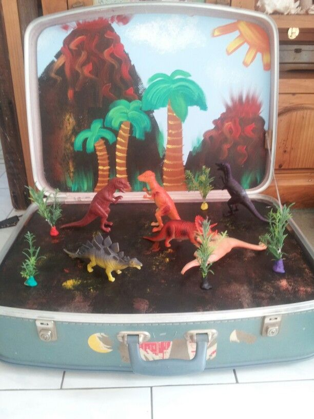 Side one, dinosaur land