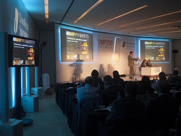 Detalle conferencia. Evento TEVA. Madrid, Noviembre 2014.