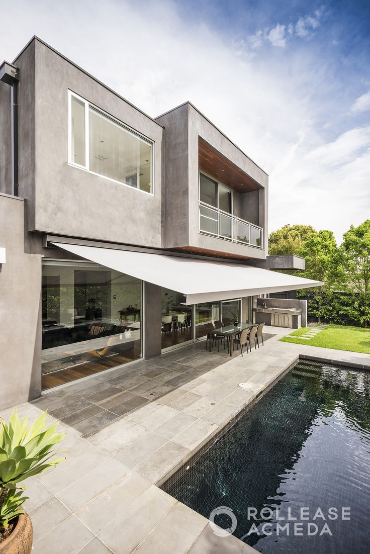 Life Blinds' Folding Arm Awnings provide a flexible & exceptionally functional shade solution to any commercial or residential outdoor area; without the need for permits, builders, mess or noise