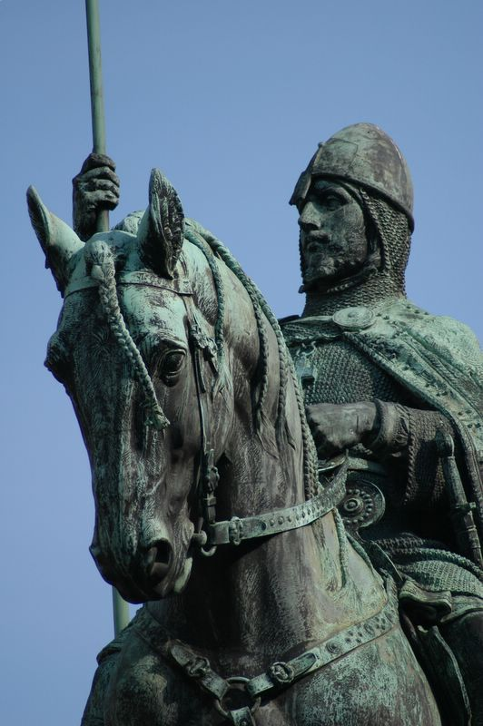 Saint of the Day – 28 September – St Wenceslaus (907-935) King of Bohemia, Martyr – also known as Vaceslav, Vaclav, Wenzel, Wenceslas, Václav.  (907 at Prague, Bohemia (in Czech Republic) – 28 September 929 by assassination).   Patronages – brewers, Bohemia, Czech Republic, Czechoslovakia, Moravia, Prague, Czech Republic, archdiocese and the city.  Attributes – banner, crown, eagle, staff, soldier, horse, armour....