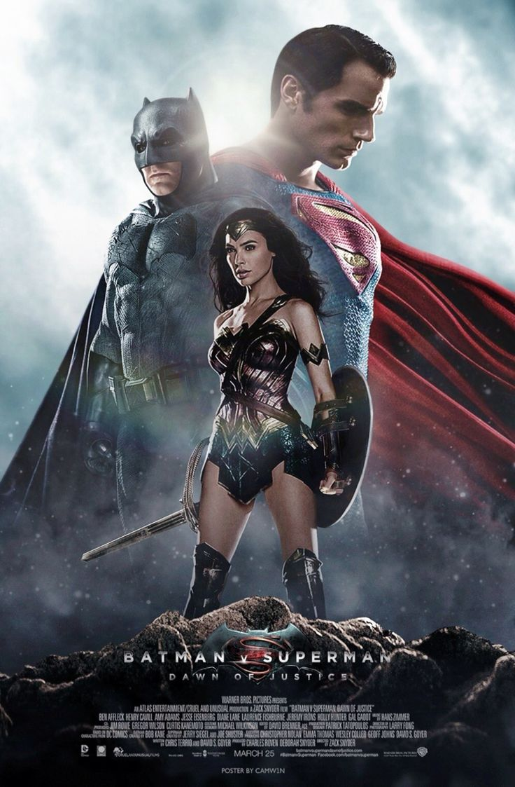 Superman vs batman movie wonder woman