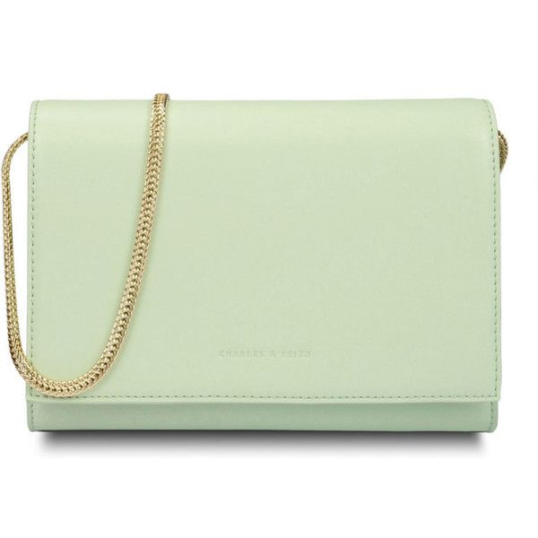 CHARLES & KEITH Classic Clutch ($59) found on Polyvore