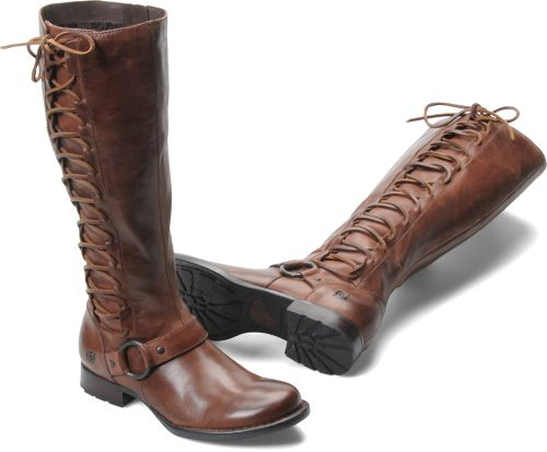 Born Womens Estelle in Dark Tan This WILL be my next boot purchase-LOVE Born boots!!!!!                                                                                                                                                                                 More