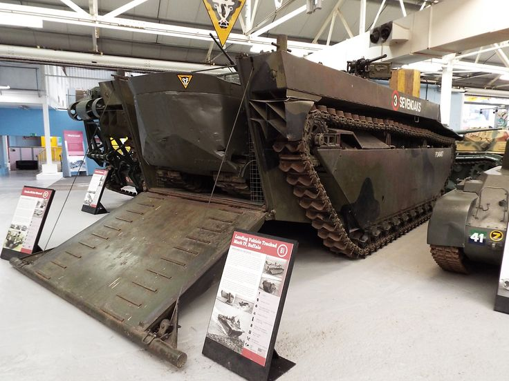US Landing Vehicle Tracked Mark IV Buffalo 1943-50 Tank Museum Bovington