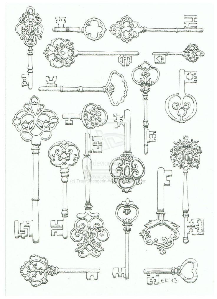 Keys for life by Traumfaengerin-Wish.deviantart.com on @deviantART