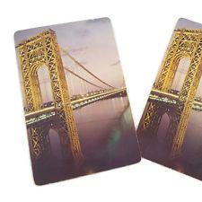 Vintage George Washington Bridge Playing Cards Deck NYC New York City Manhattan