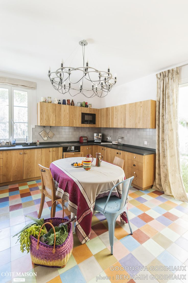 Faience multicolore cuisine: ,les plus belles cuisines de ...