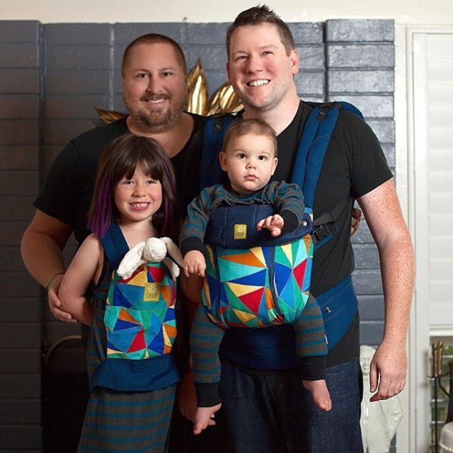 Thank you @lillebaby for #TheGuncles Lillebaby carrier with 100% of proceeds donated to the Independent Adoption Center @IACadoption. #worthsharingtuesday