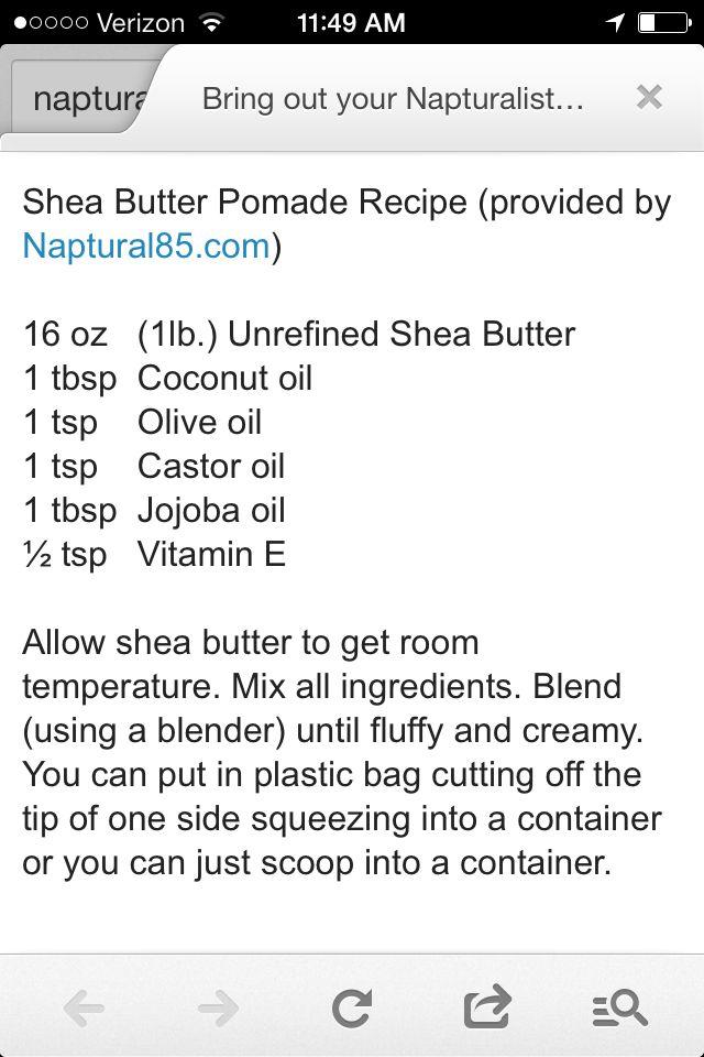 Naptural85 Shea Butter Pomade