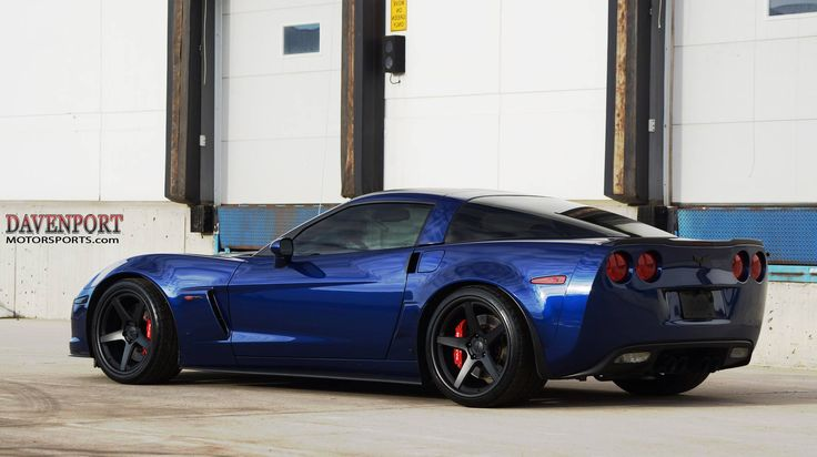 Davenport Motorsports built this C6 Corvette Z06 with their 660HP Naturally Aspirated Pkg, including Lingenfelter heads & cam, American Racing Headers, and MSD Atomic intake. It rides on Baer Brakes, Michelin Pilot Super Sport tires, and Forgeline CF3C Concave wheels finished with Matte Black centers & Satin Black outers. See more at: http://www.forgeline.com/customer_gallery_view.php?cvk=1592  ‪#‎Forgeline‬ ‪#‎CF3C‬ ‪#‎notjustanotherprettywheel‬ ‪#‎madeinUSA‬ ‪#‎Chevrolet‬ ‪#‎Corvette #C6…