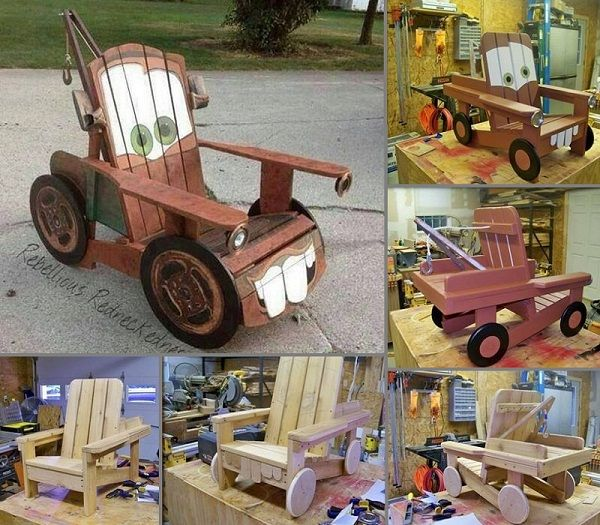 quilted jacket Tow Mater Chair  For Evan