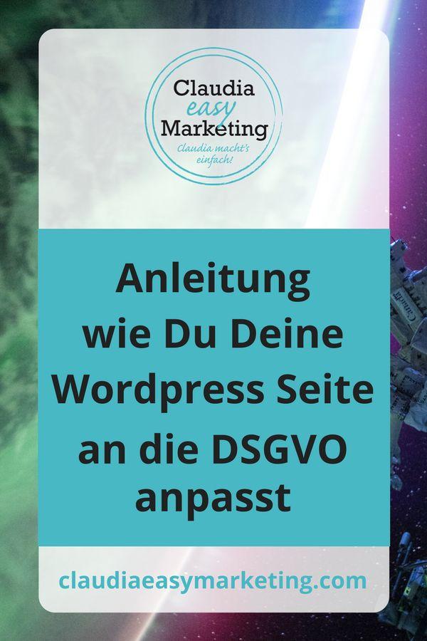 Tipps um Deine Webseite DSGVO bereit zu machen