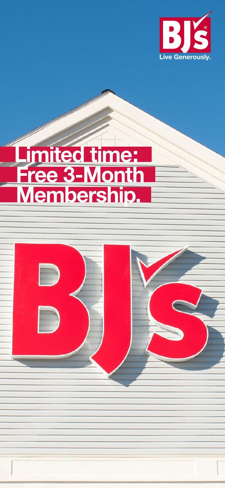 Sign up! Get a free 3-Month Membership now and save up to 25% off grocery store prices.    http://www.bjs.com/webapp/wcs/stores/servlet/PurchaseTrialMembership?storeId=10201&langId=-1&catalogId=10201&memberType=innercircle&isRewards=N&marketCode=ZK0417&cm_mmc=SpringMAP2017-_-SocialFulcrum-_-Pinterest-_-April&utm_source=Pinterest/&utm_medium=28.1P